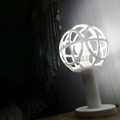 Free STL Lamp sphere, ernestmocassin