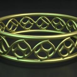 Télécharger fichier STL gratuit Bracelet06 • Plan pour impression 3D, ernestmocassin