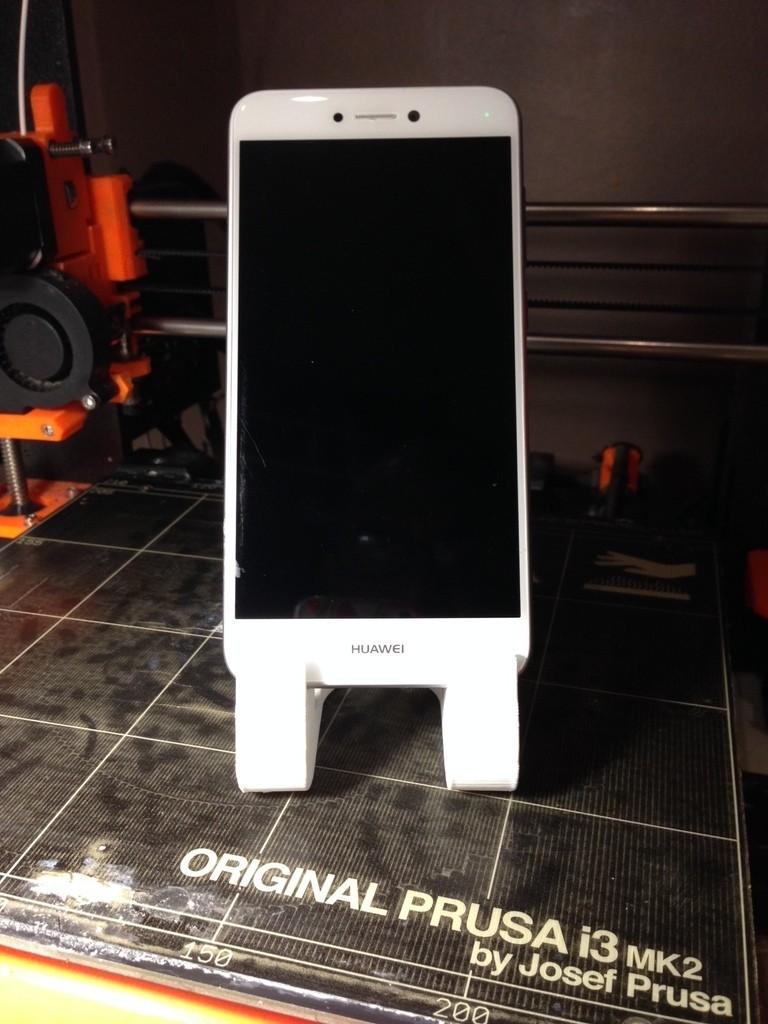 f03bc33e5e30e5fd46ea600c9d0d5c3c_display_large.JPG Download STL file phone holder bart simpson • Template to 3D print, ernestmocassin