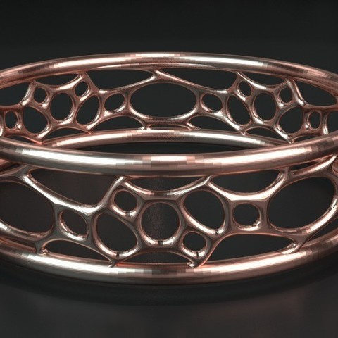 Download free 3D printer designs Bracelet07, ernestmocassin