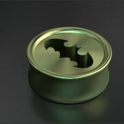 Free stl files EarPlug Batman (in), ernestmocassin