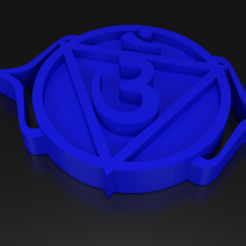 3D print model Chakra 6 Ajna - Third eye, ernestmocassin