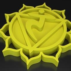 Free 3D printer designs Chakra 3 Maṇipūra - Solar plexus, ernestmocassin