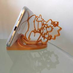 IMG_20200808_172206.jpg Download STL file Phone holder Maggie Simpson • 3D printer template, ernestmocassin