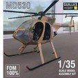 3d printer designs MD530 HELI 1:35 SCALE MODEL , guillesilvestrini