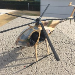 Impresiones 3D MD530 HELI 1:35 SCALE MODEL , guillesilvestrini