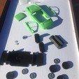 Download 3D printer designs Porsche 911 Classic 1:32 - ASSAMBY KIT / SLOT adaptable, guillesilvestrini