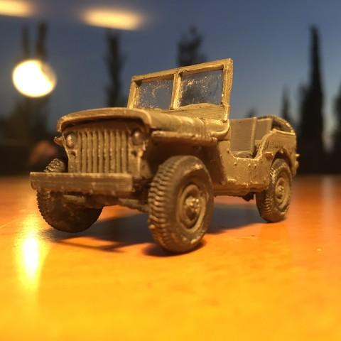 IMG_4138.JPG Download free STL file Jeep 1941 - Assembly Kit • 3D printer object, guillesilvestrini