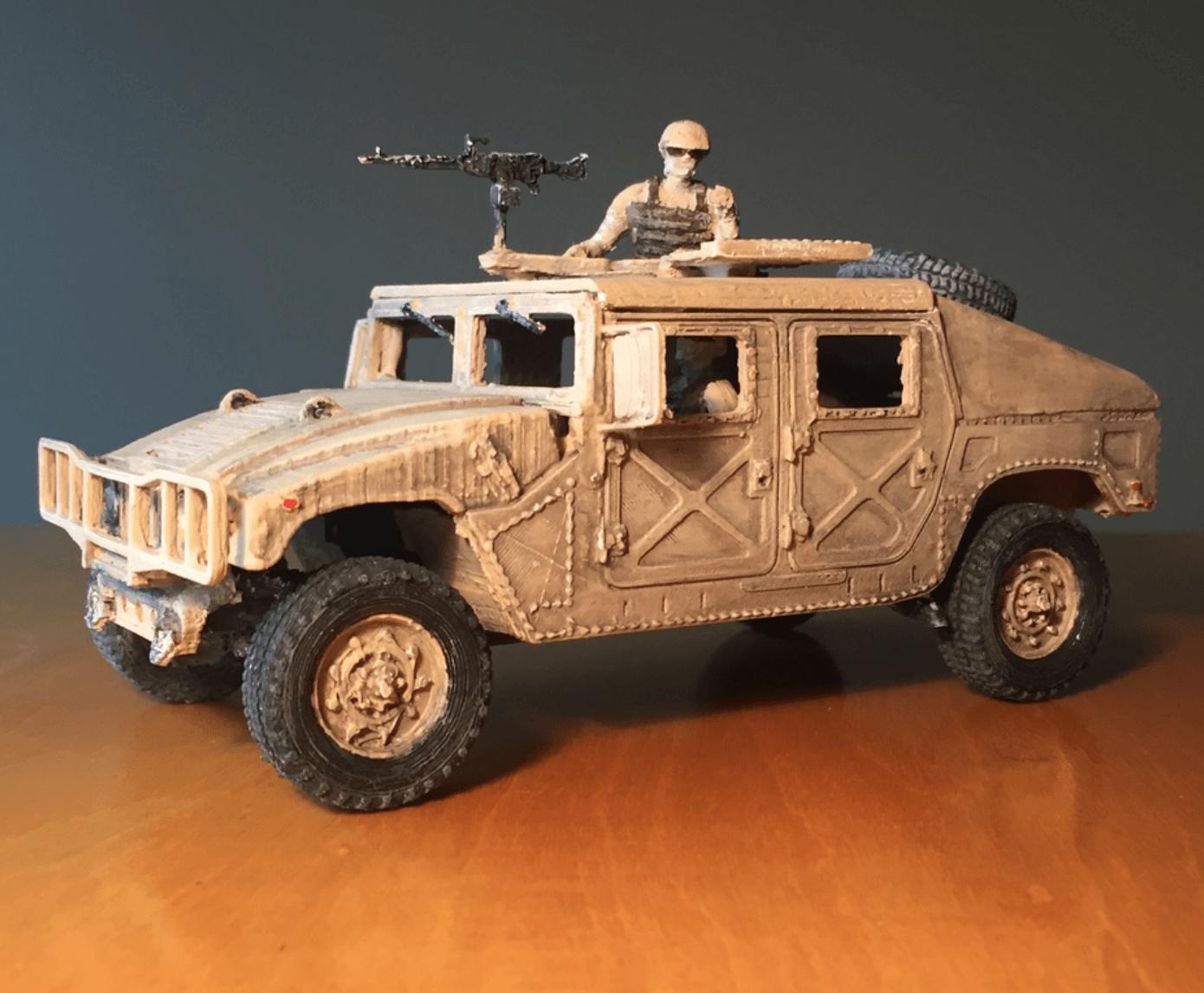 Capture d'écran 2018-03-30 à 16.07.38.png Download STL file HUMMER H1 - Assembly model kit 1:35 • 3D print model, guillesilvestrini