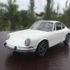 STL Porsche 911 Classic 1:32 - ASSAMBY KIT / SLOT adaptable, guillesilvestrini
