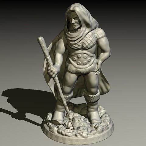 DRUID-A.jpg Download STL file Druid • Model to 3D print, pumpkinhead3d