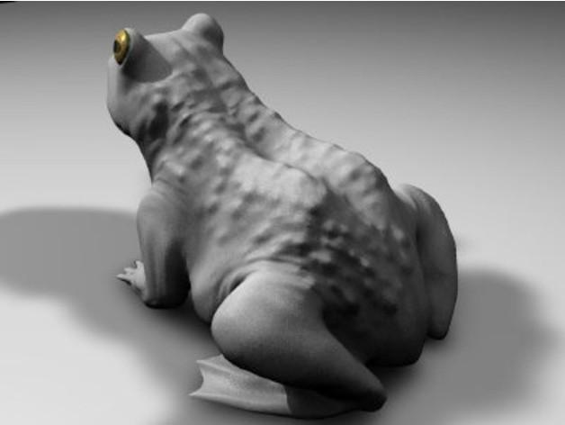 b79f76661c682637fa67083eee909138_preview_featured.jpg Download free STL file A frog • 3D printing design, pumpkinhead3d