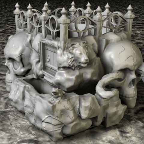 Descargar modelo 3D Sembrador de cráneos, pumpkinhead3d