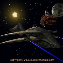 Free 3D print files Star ship, pumpkinhead3d