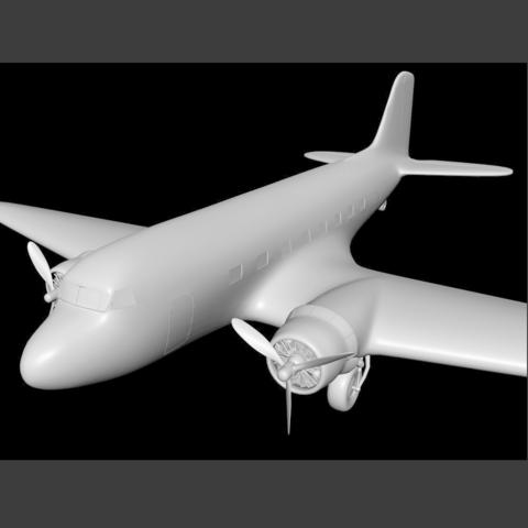 Free 3D printer designs DC-3, pumpkinhead3d