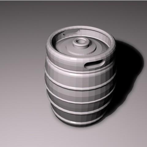 1c2d5405d02791f635f99f594516cc40_preview_featured.jpg Download STL file Beer keg • 3D print design, pumpkinhead3d