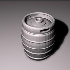 diseños 3d Barril de cerveza, pumpkinhead3d