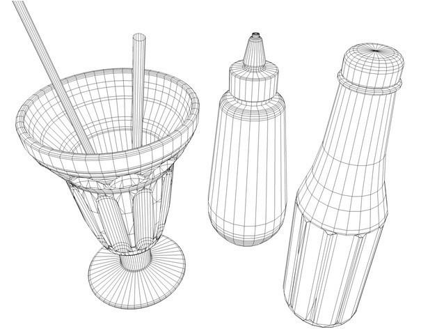 47d20deaf8fa8ff555669220e8b6d8b8_preview_featured.jpg Download free STL file Restaurant booth • 3D printing object, pumpkinhead3d