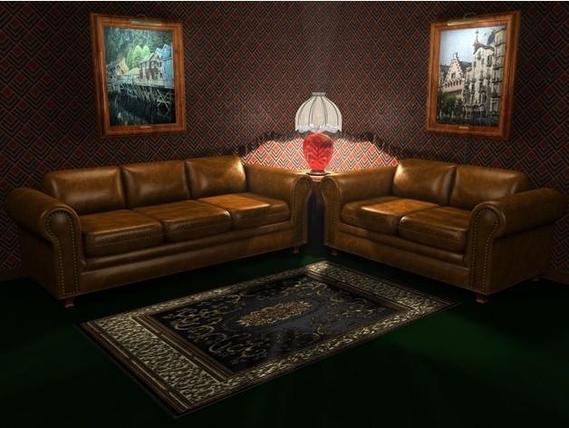 d4e01673c319fff503f7b234d7cce74d_preview_featured.jpg Download STL file Sofa • 3D printable template, pumpkinhead3d