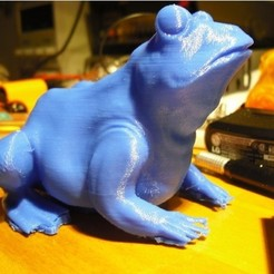 Télécharger STL gratuit Une grenouille, pumpkinhead3d