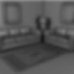 SOFA.stl Download STL file Sofa • 3D printable template, pumpkinhead3d