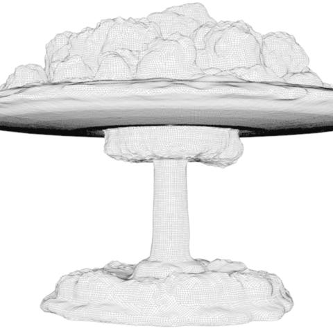 Capture d'écran 2018-04-20 à 12.15.26.png Download STL file Atomic Bomb LED Lamp • 3D printing template, pumpkinhead3d
