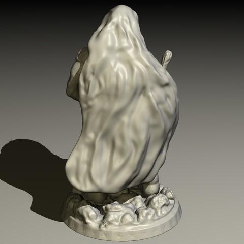 DRUID-B.jpg Download STL file Druid • Model to 3D print, pumpkinhead3d