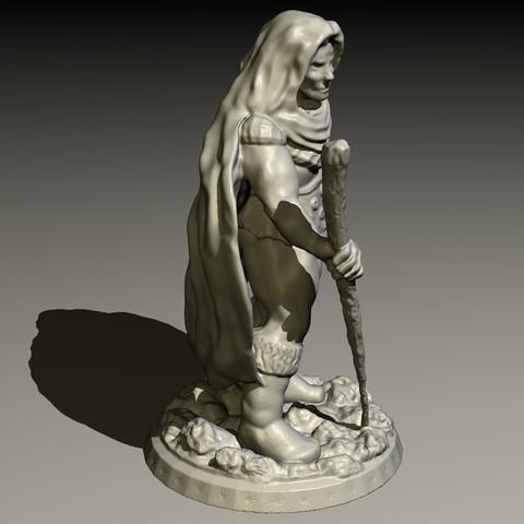 DRUID-C.jpg Download STL file Druid • Model to 3D print, pumpkinhead3d