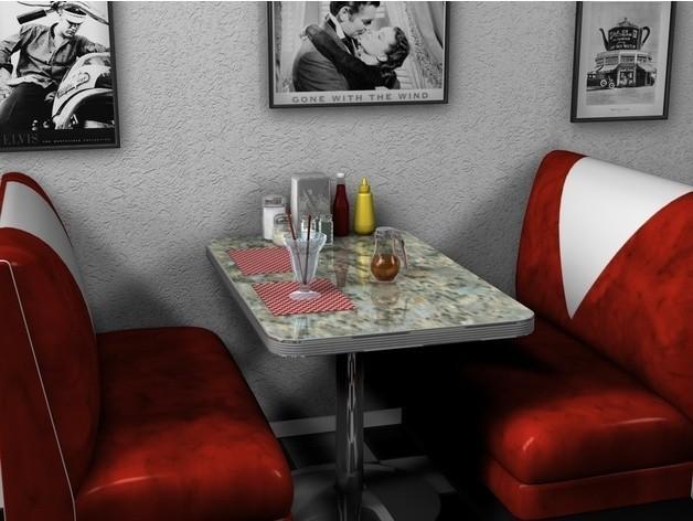 8ad080d9d6b4a20653c7d0fa5ff7ec80_preview_featured.jpg Download free STL file Restaurant booth • 3D printing object, pumpkinhead3d