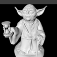 Download free 3D printer designs yoda, pumpkinhead3d