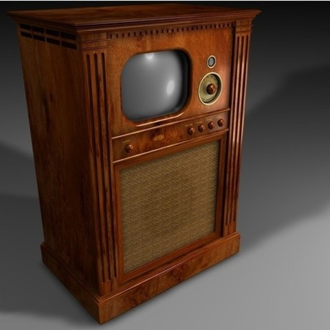 ded107968b8bf63a728a24425ea637e2_preview_featured.jpg Download free STL file Old TV • Design to 3D print, pumpkinhead3d