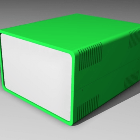Free Electronics hobby box 3D printer file, pumpkinhead3d