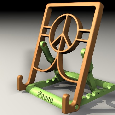 Download free STL file Tablet stand • Template to 3D print, pumpkinhead3d