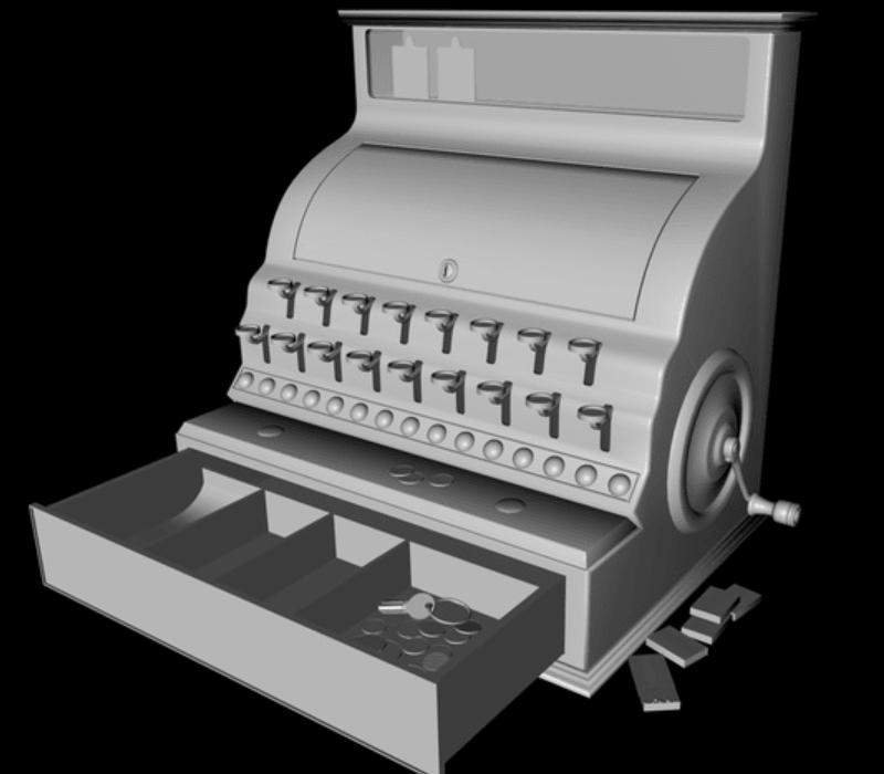 Capture d'écran 2018-04-03 à 15.38.09.png Download free STL file Cash register • Model to 3D print, pumpkinhead3d
