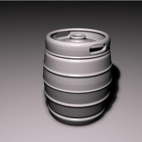 094496a2c83e1005bbfa41a70acb9bf5_preview_featured.jpg Download STL file Beer keg • 3D print design, pumpkinhead3d