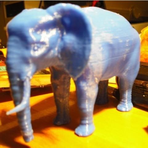 ce7c3c29e9abb8ef01988faea79ffb17_preview_featured.jpg Download STL file Elephant • 3D printing object, pumpkinhead3d