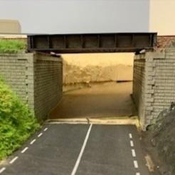 Descargar archivos 3D HO 1/87 Puente de doble vía sncf, loicbellecfr