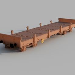 D2CF2B8B-893C-458B-9E3E-D4D9450B512B.png Download STL file Flat wagon SNCF remms HO 1/87 • 3D print object, loicbellecfr