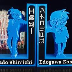 conan.jpg Download STL file Detective Conan - Bookend • 3D printing design, Ricardo_11