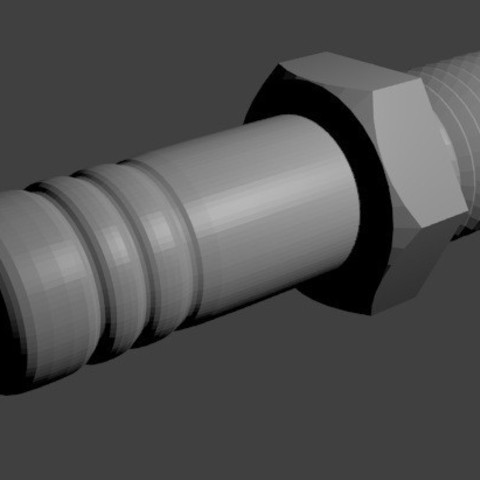 bougie2.jpg Download OBJ file spark plug • 3D printing object, baudrymichael