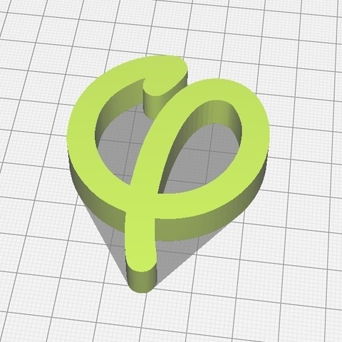 "2018-10-04 21_48_47-Ultimaker Cura.jpg Download free STL file ""Phi"" as in FI • 3D printable model, baudrymichael"