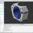 stl files Dual 30x30 E3D Fan Holder, SEUTec