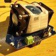 3D printing model Dual 30x30 E3D Fan Holder, SEUTec