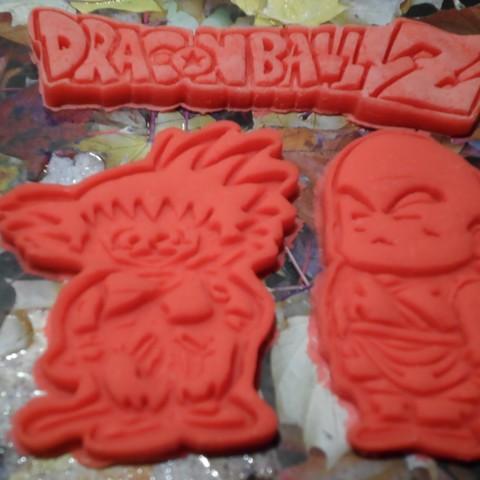 SAM_4981.JPG Télécharger fichier STL gratuit Dragon Ball Krilin,Goku x3 cutters • Design imprimable en 3D, bboy_born22