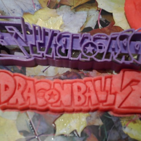 Download free 3D printer files Dragon Ball Krilin,Goku x3 cutters, bboy_born22