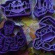 Télécharger fichier STL gratuit Kit Clash Royale x4 cutters • Design pour imprimante 3D, bboy_born22