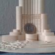 Download free STL files Burj Khalifa, Burki2512