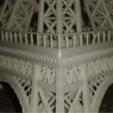 Download free STL Eiffeltower three pieces, Burki2512