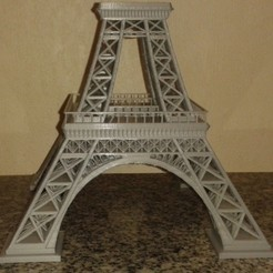 Download free STL Eiffeltower three pieces, Burki2512