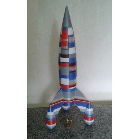 Free 3d printer model Big Rocket, Burki2512